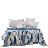 梦洁美颂 1050500951 克莱格双面暖暖绒毯 邮政订制 单床