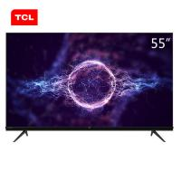 TCL 55V580 电视机 55英寸AI人工智能 4K超高清全面屏