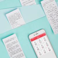 印先森(MR.IN)M02 迷你打印机 微小型便携高清手账打印 单台 颜色随机
