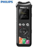 飞利浦(PHILIPS)VTR8010 录音笔 专业高清降噪摄像 小型防出大容量录音机 标配+64G内存卡 黑色