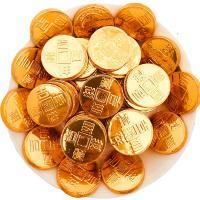 徐福记 金币巧克力500g 散装奇欧比糖果批发结婚喜糖新年 散装 单袋 金身