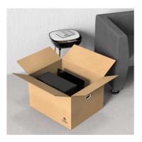 毕亚兹 ZX-03 搬家纸箱子 有扣手80*50*60 5个装