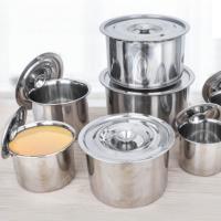 烘焙精灵 不锈钢调料罐带盖