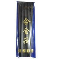 桂鳳 合金款筷子 24cm 10雙/包