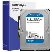 西部数据(WD)WD20EZAZ 2TB 台式机械硬盘 SATA6Gb/s 256MB 蓝盘