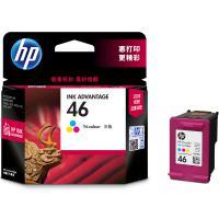 惠普(HP)CZ638AA 46 彩色墨盒 适用HP DeskJet 2020hc/2520hc/2529/2029/4729 打印量750页 15天质保