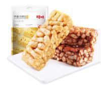 百草味 沙琪玛 荞麦鸡蛋味面包 216g/袋