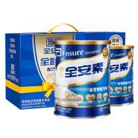 雅培(Abbott)全安素蛋白质粉 成人中老年营养粉 原味900g*2罐 两罐礼盒套装 单套