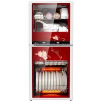 美的(Midea)MXV-ZLP100K03 二星级 100系列立式消毒柜 单台 红色