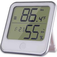 得力(deli)8959 温湿度仪 电子温湿度计 单个 白色