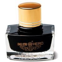英雄(HERO)9003 钢笔/签字笔钢笔墨水 非碳素染料型 墨黑色