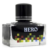 英雄(HERO)7105 钢笔/签字笔钢笔墨水 非碳素染料型彩色墨水系列 7105彩墨黑色