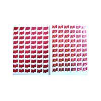 小红花 幼儿园表扬奖励卡通贴纸 13*10CM 10张/包 10包起送