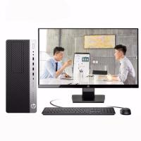 惠普(HP)EliteDesk 800 G4 台式电脑 Intel酷睿I5-8500 3.0GHz六核 4G-DDR4内存 1T SATA硬盘+128G固态硬盘 集显 DVDRW 麒麟操作系统(桌面版...