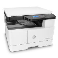 惠普(HP)LaserJet MFP M439n 黑白激光多功能一体机 24页/分打印速度 手动双面打印 鼓粉分离 一年保修