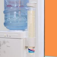 拜杰(Baijie)CP-206 饮水机自动取杯器 一次性纸杯架 白色