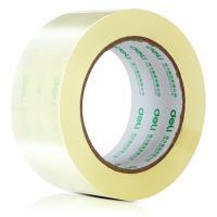 得力(deli)30205 高品质高透明封箱胶带 48mm*100y*50um(91.4m/卷) 6卷/筒