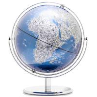得力(deli)2163 万向金属漆地球仪 直径30cm 单个