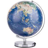 得力(deli)2164 LED灯立体浮雕地球仪 直径25cm 单个