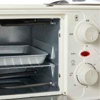 德世朗(DESLON)DDQ-JK002 微蒸烤一体机早餐机 单个 灰白色