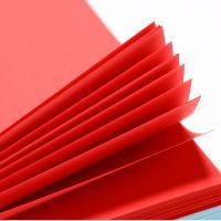 齐心(COMIX)C5984-24 彩色多功能打印纸 A4 80g 100张/包 红色