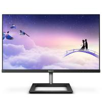 飞利浦(PHILIPS)271E1 液晶显示器 27英寸IPS技术屏 全面屏无边框 黑色