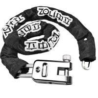 中立(ZOLI)85308 通用链条环形防盗锁 加长布套 黑色