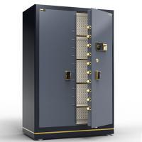 欧奈斯 D-180 保险柜 指纹密码 对开门 高1.8米 银灰色/咖橘色
