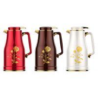 新家园(SHINGAYUAN)JLS-6122 不锈钢保温壶 1600ml 咖啡色/白色/红色/榉木色/柚木色 颜色备注
