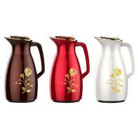 新家园(SHINGAYUAN)JLS-6142 不锈钢保温壶 1600ml 咖啡色/白色/红色 颜色备注