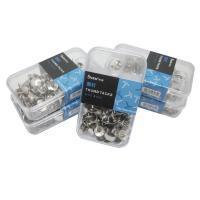 树德(Shuter)A82 镀镍图钉塑盒装10.5mm,120枚