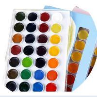 奥文 美良24色学生级固体水彩颜料