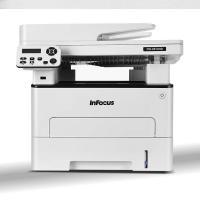 富可视(InFocus) FM-2833ND 黑白激光三合一( 打印复印扫描一体机) 白色标配  满足多元化办公需求