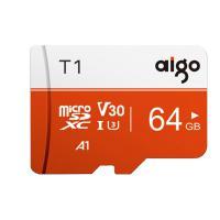 爱国者(aigo)T1 TF存储卡 64G 读速97MB/s