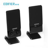 漫步者(EDIFIER)R10U 音响 2.0声道 多媒体音箱 一年保修 黑色