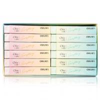 得力(deli)7547 橡皮 彩色柔软长条橡皮擦 36块/盒 单盒