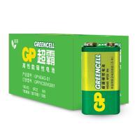 超霸 1604G-S1 碳性电池 9V 10粒/盒 单盒