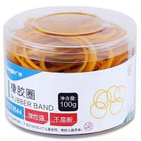 广博(GuangBo)WQT9544 弹力橡皮筋办公橡皮圈橡胶圈牛皮筋100g 单盒