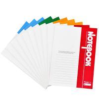 广博(GuangBo)GBR0790 A5笔记本子办公记事本学生日记本软抄本40张10本装 单套 颜色随机