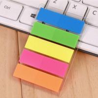 得力(deli)9063 彩色指示标签 5色/包 24包/盒 整盒装
