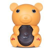 先科(SAST)A38 音响 小熊户外便携蓝牙音响 黄色